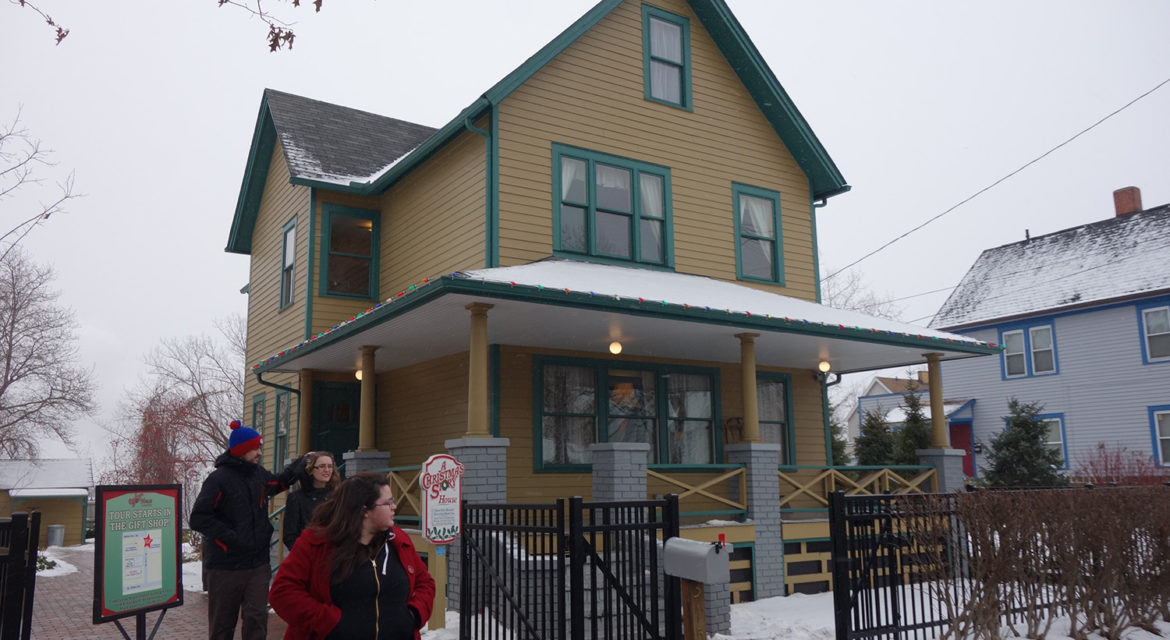 bringing a christmas story to life in cleveland the monumentous - Christmas Story House Cleveland